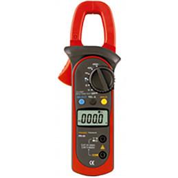 Pinza Amperimetrica Digital Prasek PR-54, AC/DC 600V 400A Voltaje Corriente Resistencia Frec Temp
