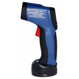 Termometro Infrarrojo Laser Digital Prasek PR-8855, sin contacto, Rango 50 - 1050°C