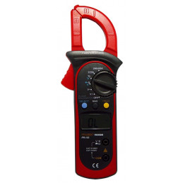 Pinza Amperimetrica Digital Prasek PR-103, ACDC 600V 400A Voltaje Resistencia Temp Diodo Continuidad