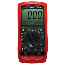 Multimetro Digital Prasek Premium PR-107 Automotriz AC750V DC1000V Voltaje Resistencia diodo Continuidad Impendancia