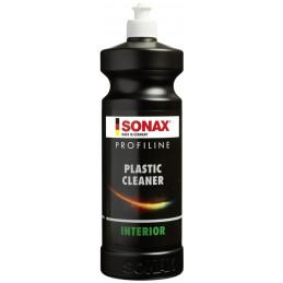 Limpiador de Plasticos, PlasticCleaner interior ProfiLine , Limpia Protege Anti-Estatico, 1 Litro, 286300 SONAX