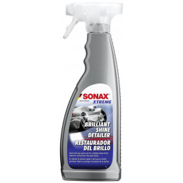 Restaurador de Brillo 750ml Brilliant Shine Detailer Xtreme, Brillo y Limpieza Pinturas, 287400 SONAX