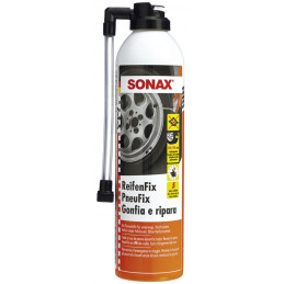 Sellador de Llantas, Neuma Fix, Tire Fix, Cierra Pinchazos de Llantas e Infla, 400 ml, 432300 SONAX