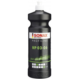 Pulidor Abrasivo ProfiLine Fino 1L 3P/6B Nano polish NanoPro, Para pintura ligeramente dañada, 208300 SONAX