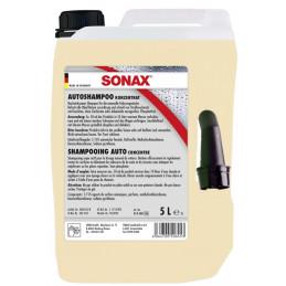 Champu Shampoo Brillo concentrado 5L, Limpia y Protege, 314500 SONAX