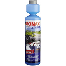 Lava parabrisas Vision Clara 250ml NanoPro XTREME, Aditivo Liquido detergente, 271141 SONAX