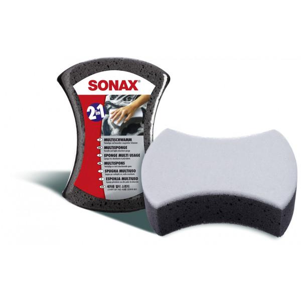 Esponja Multiuso Doble Cara, MultiSponge, Para lavado de Vehiculos, 428000 SONAX